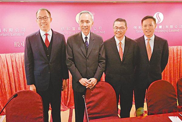信和明年推3盤涉2300伙 - 香港文匯報
