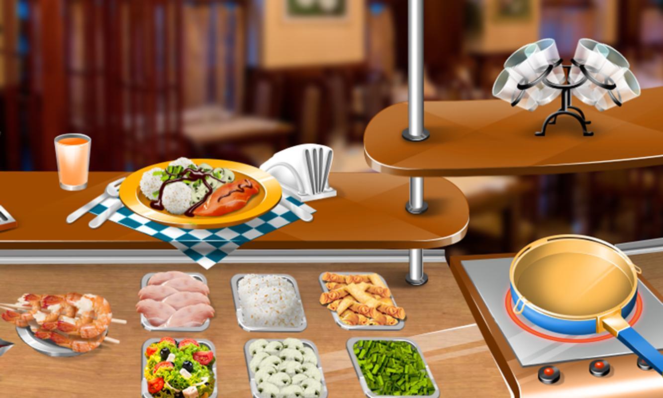 Restaurant Games Serving Customers