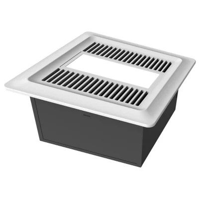 low noise bathroom exhaust fan with led light