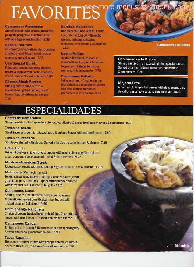 Arbys Fast Food Restaurant Menu
