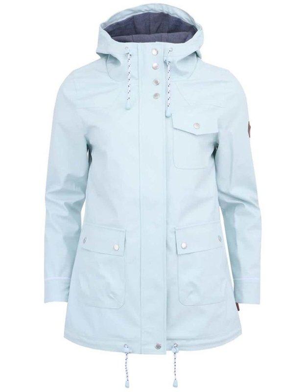 3071c78550d Mentolová dámská bunda pláštěnka Bellfield Alexandra (90564) od ZOOT