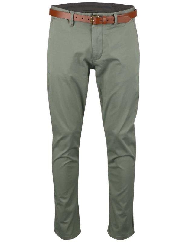 1dfb227edca Khaki slim kalhoty Selected Yard (167709) od ZOOT