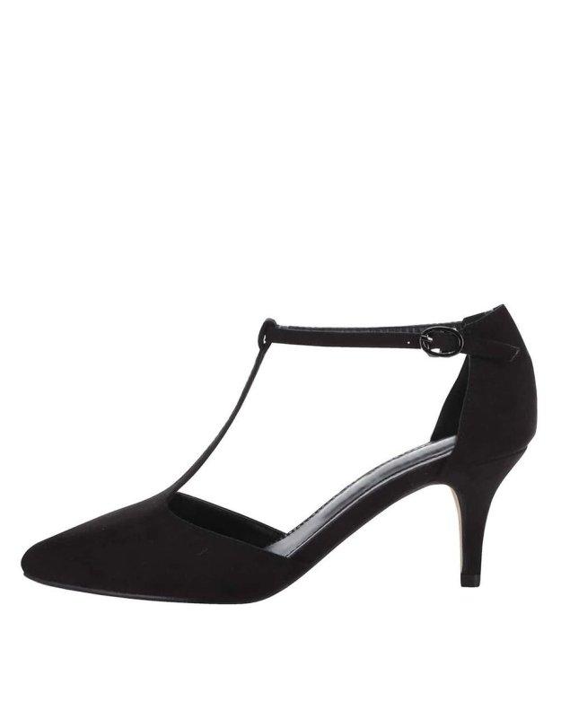 015d9b03d5db Černé sandálky na středně vysokém podpatku Xti (160952) od ZOOT