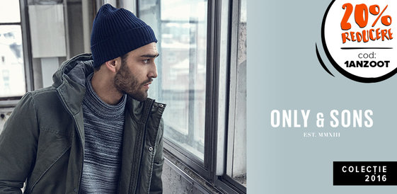 ONLY & SONS: Un star din Nord