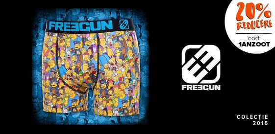 Freegun: Star Wars, Hulk, Homer and Co.