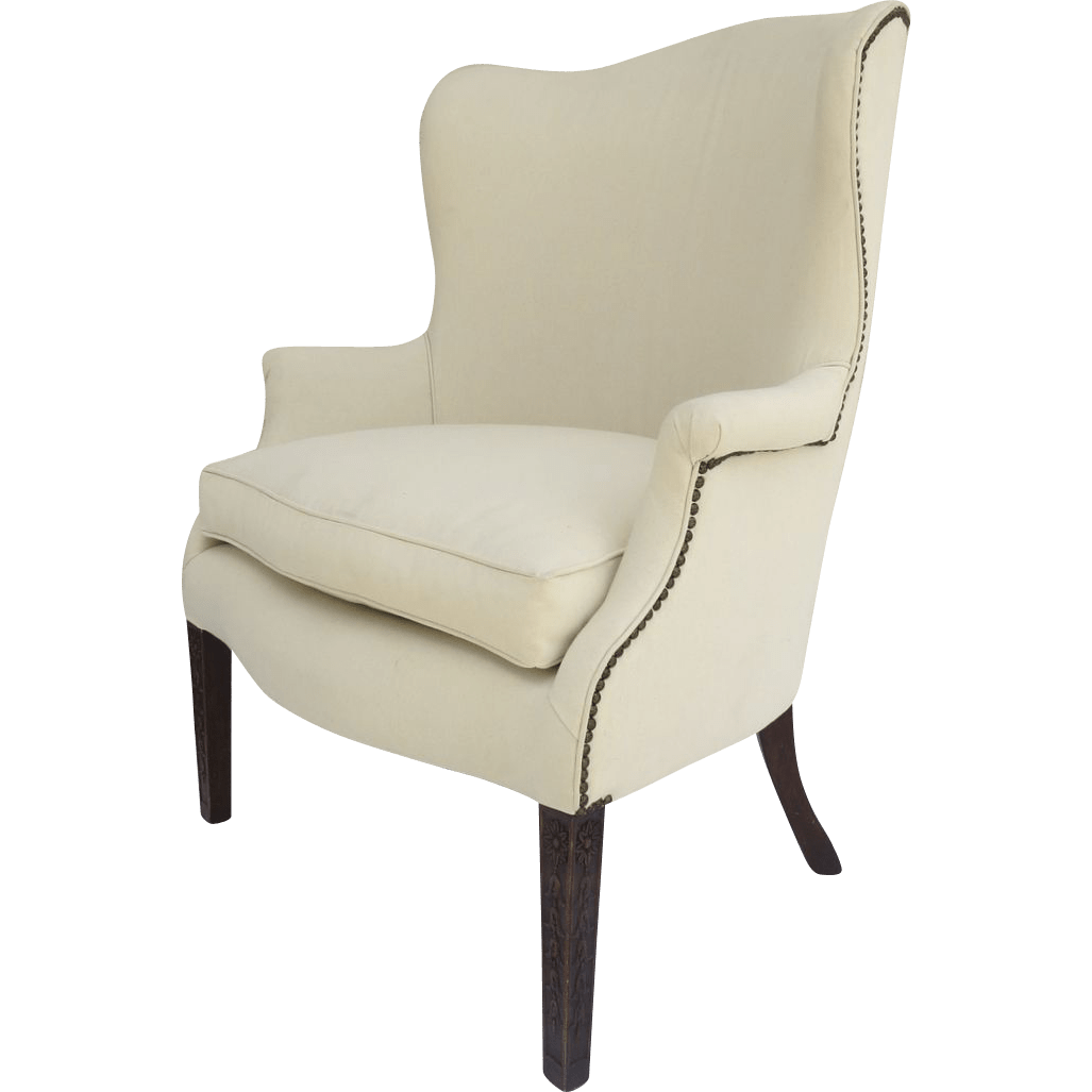 Vintage 1930s Wing Chair Bell Flowers From Blacktulip On