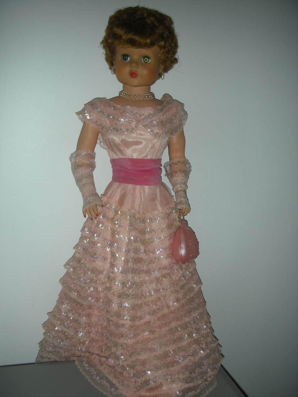 Vintage 1950s Sweet Rosemary Doll By Deluxe Reading