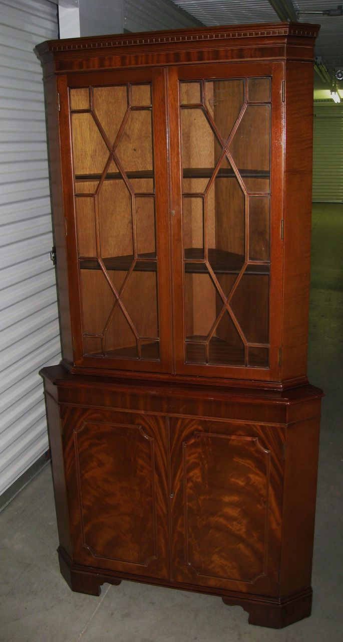 1940s Duncan Phyfe China Cabinet