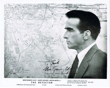 Montgomery Clift Autograph