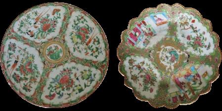 Antique Canton porcelain