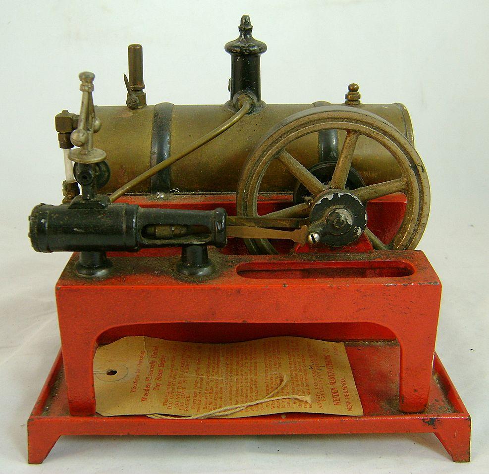 Weeden Electrically Heated Toy Steam Engine No 648 Ca
