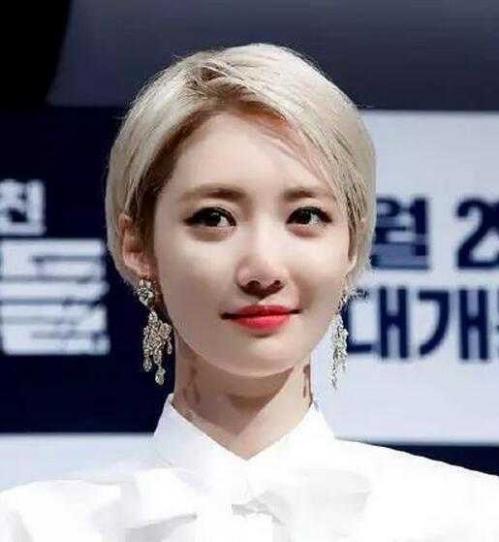 高俊熙最新發型圖片 韓國女明星高俊熙短發發型圖片欣賞 - 新銳資訊網