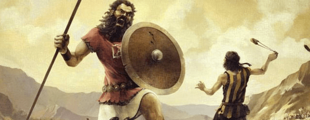 DAVID, GOLIATH, GOLGOTHA & JESUS – Firestorm Ministries