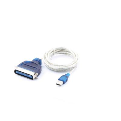 This Printer Cable connects USB and IEEE-1284 parallel port on any peripherals. This is the best solution to converts USB signal to parallel port signals  which is also compat