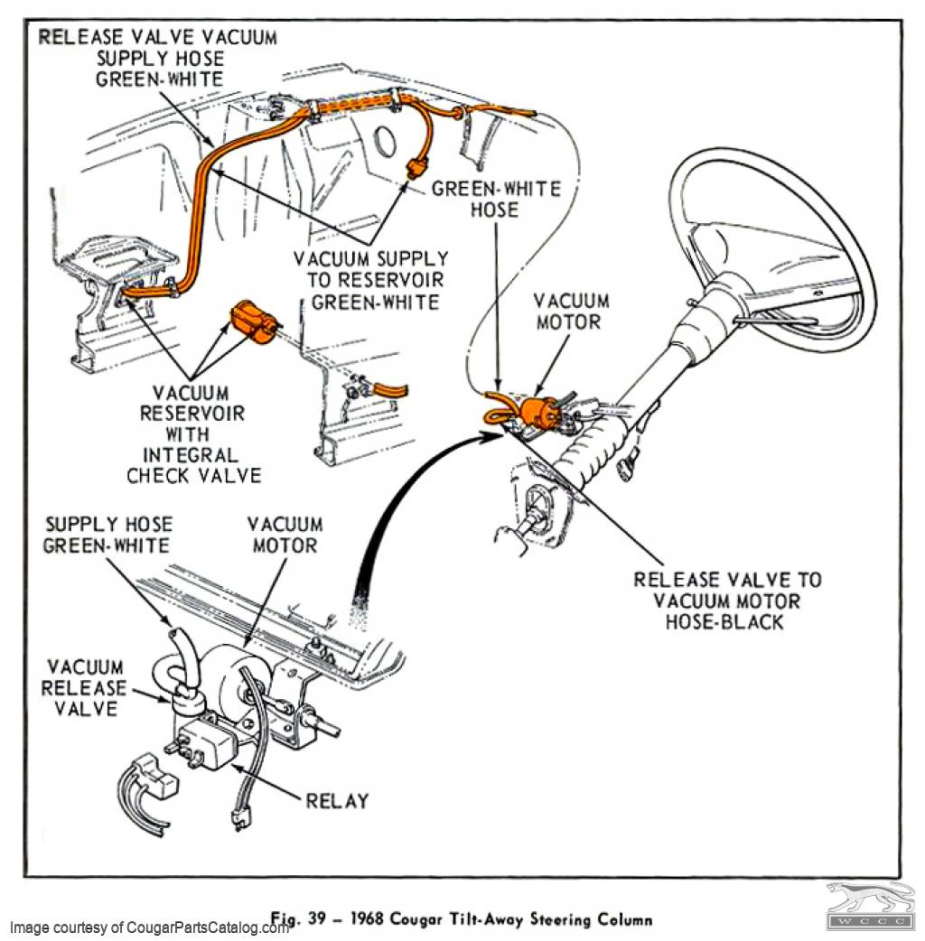 Mustang Steering Column Wiring Diagram