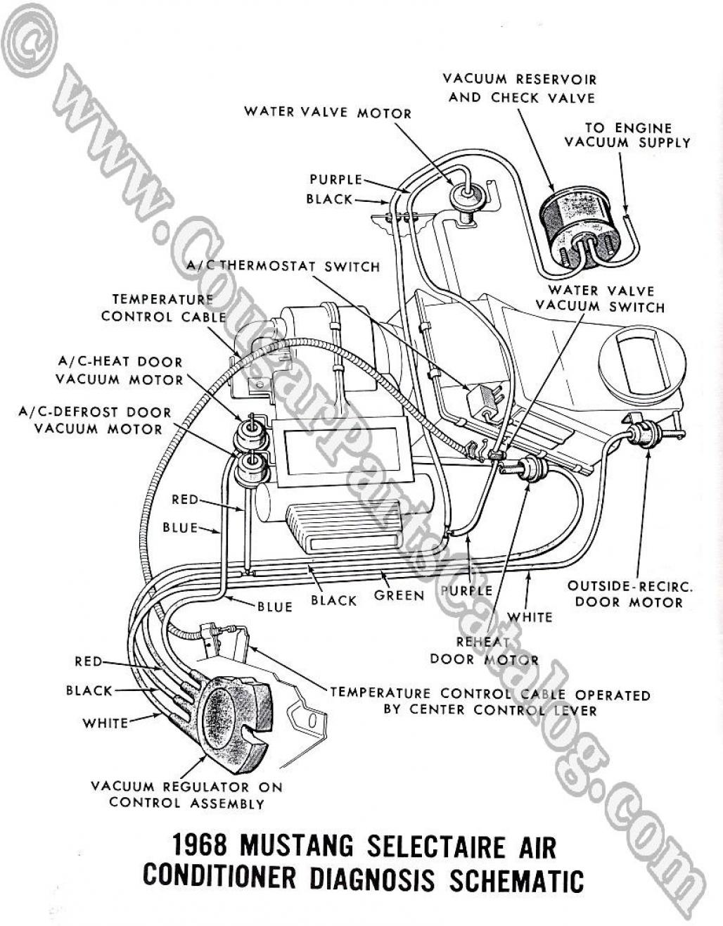 68 Ford Mustang Alternator Wiring Diagram Ford