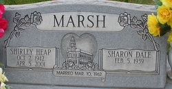 Shirley <i>Heap</i> Marsh