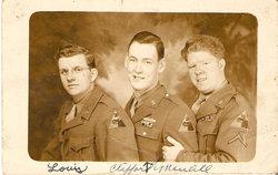 Sgt Louis Clifford Lou/Cliff Mancill