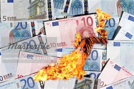 Image result for burning euros