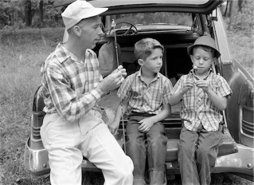 Image result for 1950's fatherhood