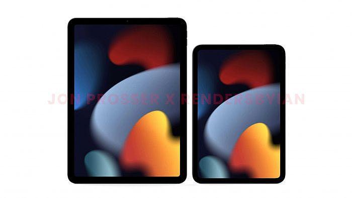 外型上iPad Mini 6幾乎就是iPad Air 10.5的縮小版。(圖/翻攝自FrontPage Tech)