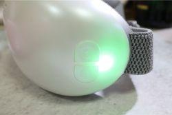 充飽電亮綠燈