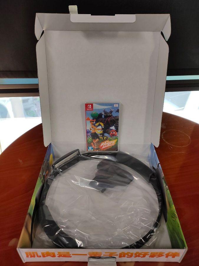 Nintendo Switch 健身環大冒險 盒內內容物