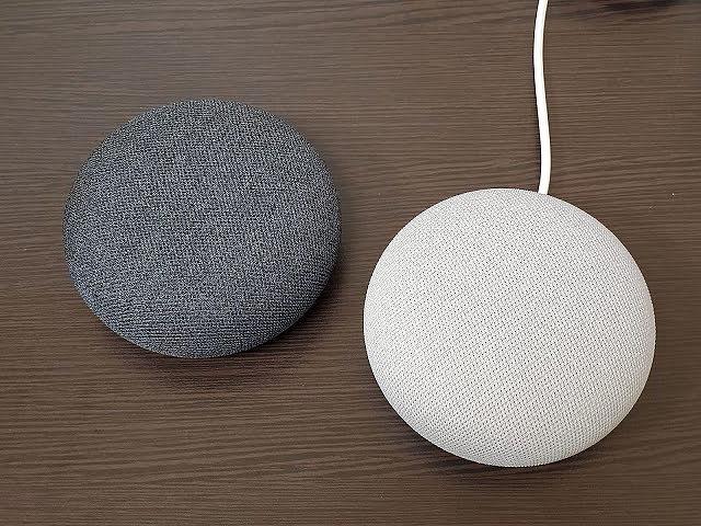 Google Nest Mini 粉炭白&石墨黑