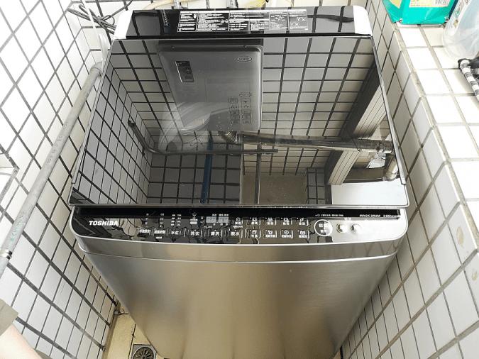 洗衣機開箱