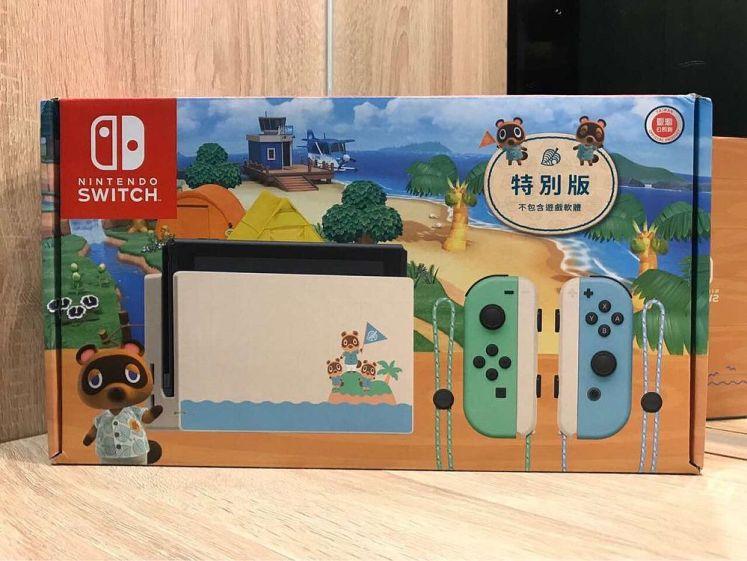 Nintendo Switch 集合啦!動物森友會 特別版主機外盒