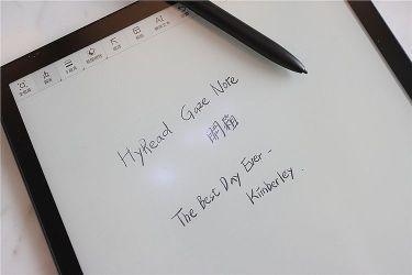 在閱讀器上面可以另外塗鴉寫筆記