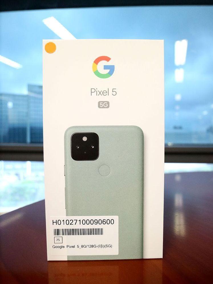 Google Pixel 5 灰綠色(5G)
