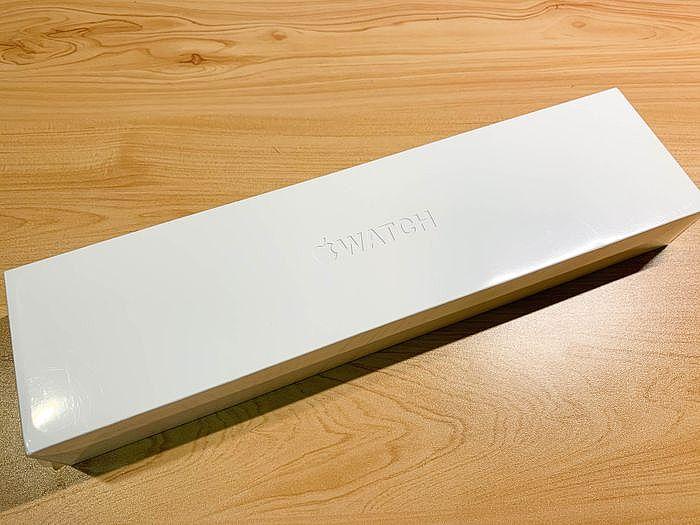 開箱 Apple Watch Series 6