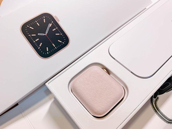 開箱 Apple Watch Series 6 手錶盒