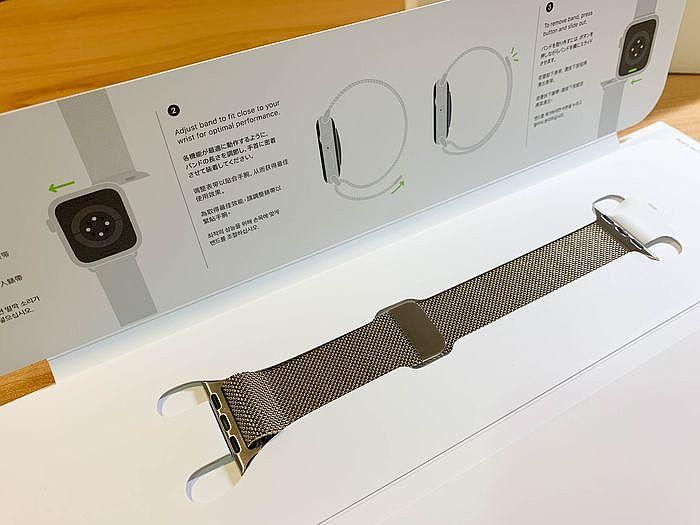 不鏽鋼米蘭式錶帶僅有一條錶帶不分長短