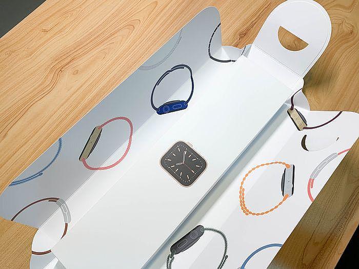 繽紛色彩的 Apple Watch 圖騰