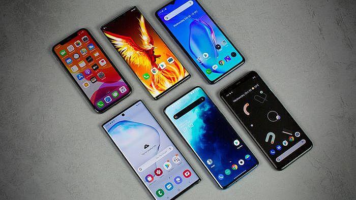 智慧型手機四大主流螢幕設計:全螢幕、瀏海、水滴、滑蓋