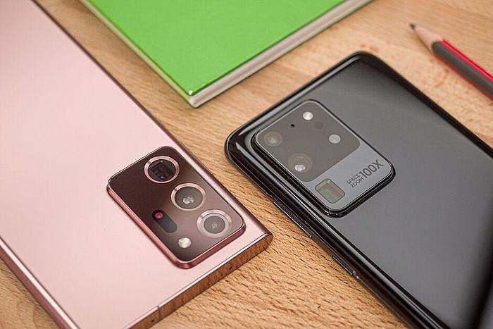 Samsung 5G系列旗艦機Galaxy S20 vs. Galaxy Note20,兩機怎麼選?
