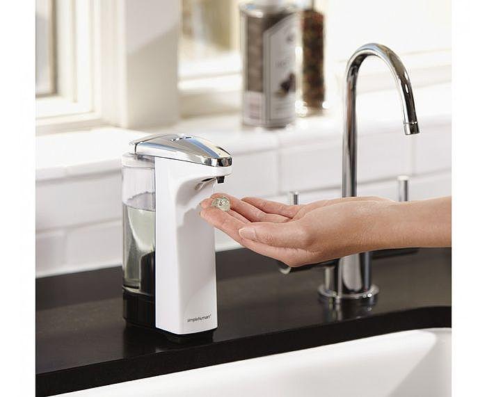 一、感應式自動給皂機