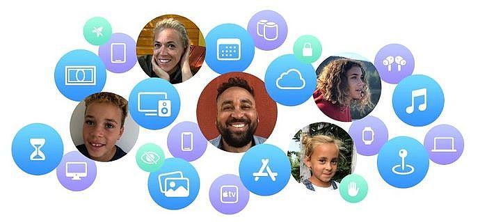 沒拿iPhone也能用,Apple Watch家人共享功能教學