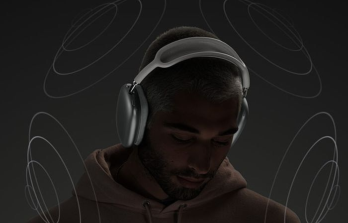 AirPods Max 耳罩式耳機空間音訊