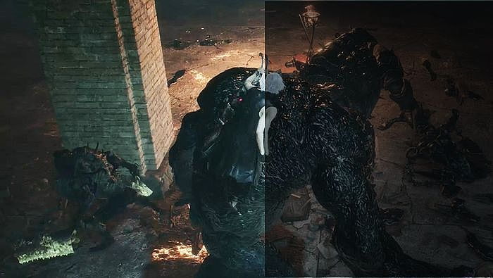 夜間模式可以讓玩家在遊戲中較昏暗的畫面進行螢幕的亮度調整