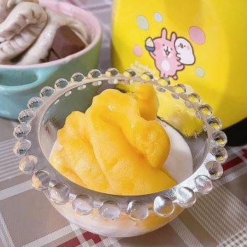 製作芒果冰淇淋