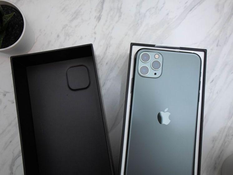 iPhone 11 Pro Max 夜幕綠盒蓋