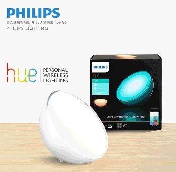 飛利浦 PHILIPS LIGHTING Hue 無線智慧照明 LED彩色情境燈Go