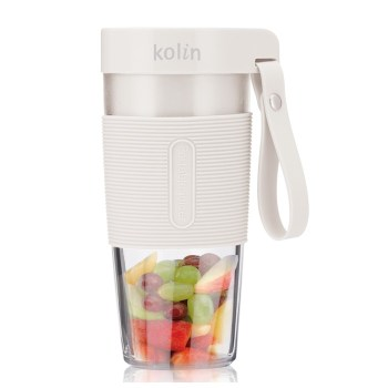 Kolin歌林 無線手搖杯果汁機 隨行杯 USB快速充電 KJE-HC12U (白)