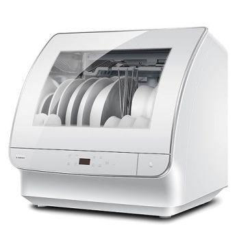 【Haier海爾】小海貝全自動洗碗機(白色) DW4-STFWWTW