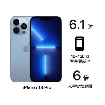 Apple iPhone 13 Pro 128G (天峰藍)