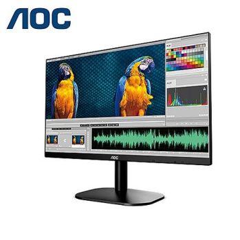 AOC 24B2XH 24型纖薄美型超窄框寬螢幕