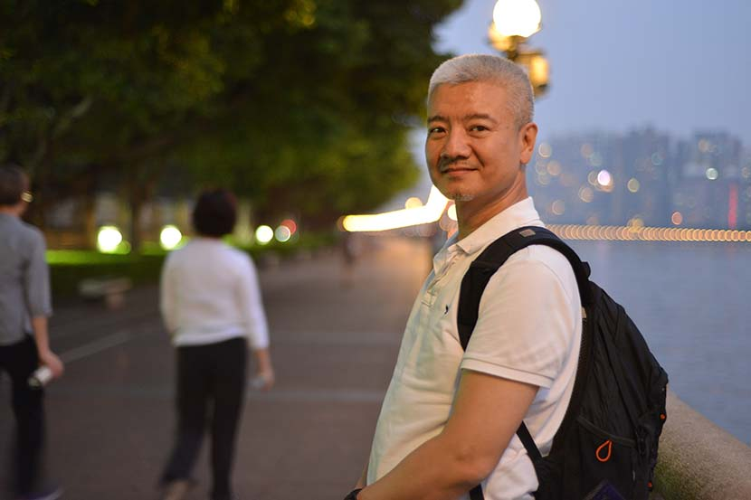 Ah Shan poses for a picture in Guangzhou, Guangdong province, 2013. Courtesy of Ah Shan